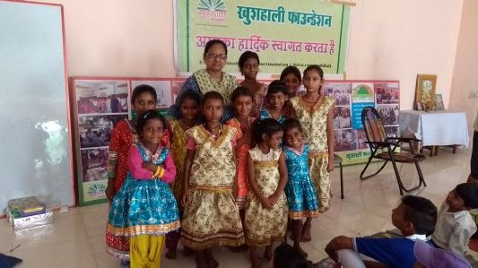 Indradhanush_Clothes Distribution_6th Aug_2017